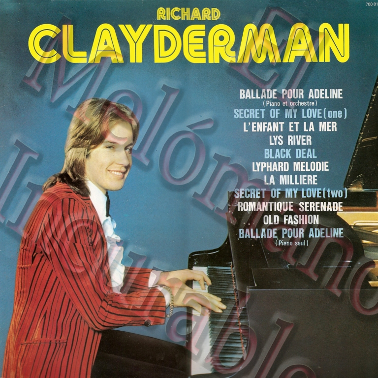 RICHARD CLAYDERMAN FRANCE copia